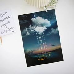 [A3 포스터, 캔버스액자] 별빛이 내린다