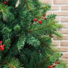 180cm 대형 열매 솔잎 트리 크리스마스 트리