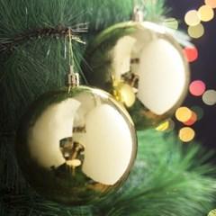 2p 골드 트리 유광볼 크리스마스 성탄절 장식품