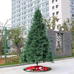 270cm 크리스마스 눈꽃 대형트리 야외 전시트리