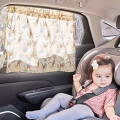 에시앙 차량용 햇빛가리개 (기린동산)_(979394)