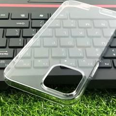 아이폰12 베이직 투명 풀하드 케이스