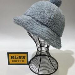 방울캡 뽀글이 데일리 패션 깊은 버킷햇 벙거지 모자