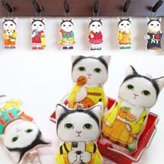 키링만들기 DIY패키지 - 고양이 기무 14종