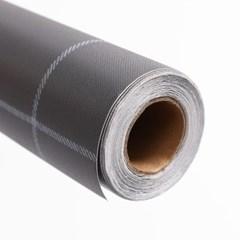 격자무늬 셀프도배 벽 시트지(5M) (그레이)