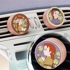 벨르아망 빨강머리앤 차량용방향제 아르누보 디자인 차량용 디퓨저