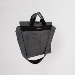 UD Cross Tote Bag Herringbone