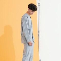 남성 잭 그레이 브이넥 잠옷세트