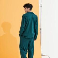남성 다크그린 칫솔 잠옷세트