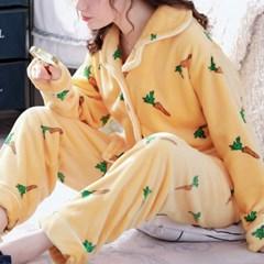 잠옷 상하세트 파자마 극세사 겨울 커플 홈웨어