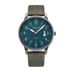 [쥴리어스 옴므] JAH-121 남성시계 손목시계 가죽밴드