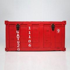 대형 레드 박스