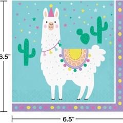 라마 장식용 냅킨 대 CC Llama Party Lunch Napkins