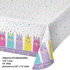 라마 테이블커버 CC Llama Plastic Table Cover