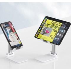Ones 태블릿 휴대폰 탁상용 스탠드 거치대 접이식 각도조절 받침대
