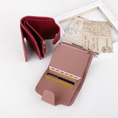지폐 동전 수납 가능 반지갑 카드지갑 ac-9197c_(1241824)