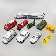 특수 미니카 시리즈/경찰차/소방차/탱크/군용헬기/미니카