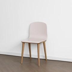 [오크] H형 의자 핑크