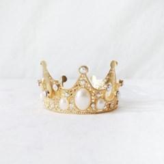 골드 왕관 티아라 고양이 강아지 옷 모자 할로윈 코스튬 MIYOPET