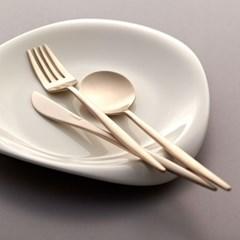 방짜유기로 만든 차림 테이블 스푼_(1051408)