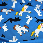 Kittybunnypony String Pouch by Virginie Morgand