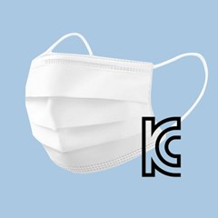 KC인증 3중필터 지키자 덴탈마스크 대형 100매입(개별포장)
