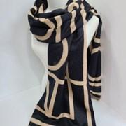 캐시미어 두꺼운 블랙 핑크 데일리 미시 패션 머플러