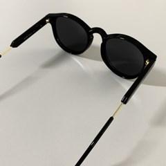 라운드 선글라스 올블랙 [Unique Design] 남녀공용