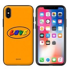 몬드몬드 LOVE orange 자석 오픈 범퍼 케이스 아이폰 커버
