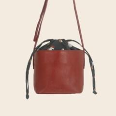 round-book string bag
