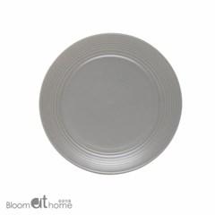 노르딕 접시 (대-라이트그레이) 2P