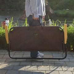 지오프리 패밀리 2인용 더블 체어 GF320003BR 캠핑 트윈의자