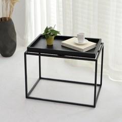 [포커스인가구] 트레이 소파 테이블(정사각 W600/직사각 W900)