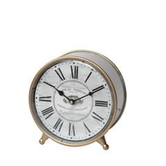 W101꼬떼따블 스토리지 원형 탁상시계