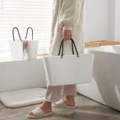 손잡이 욕실 수납바구니 목욕가방