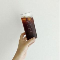 홈카페 사각 내열유리컵 (2type)