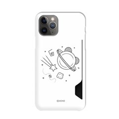 몬드몬드 큐티 우주 카드 수납 하드 케이스 아이폰 커버