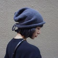 리부 여성 따듯한 겨울 니트 비니 두건_(2495673)
