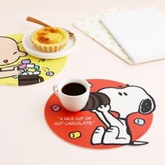 피너츠 마쉬멜로우 테이블 매트 소형2P세트