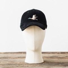 CORDUROY MALLARD CAP (black)