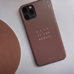 폰케이스 (브라운) - PHONE CASE (BROWN)