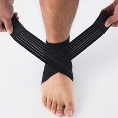 톰디어 2중압박 한쌍 얇은 아대 농구 축구 발목보호대