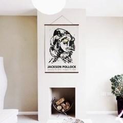 패브릭 포스터 드로잉 명화 그림 액자 잭슨 폴락 10
