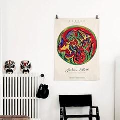 패브릭 포스터 빈티지 추상화 그림 액자 잭슨 폴락 9