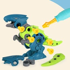 레츠토이 공룡 만들기 유아 공구놀이세트 diy 장난감