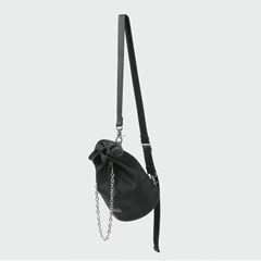 mini buket bag _ black