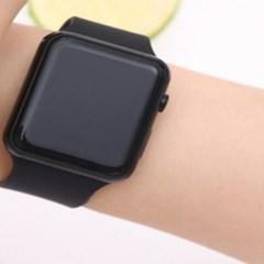 남녀노소 디지털 Simple Black 손목시계