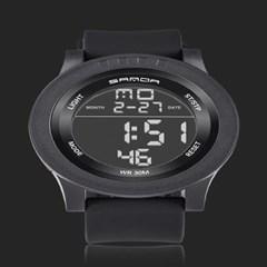 남성 디지털 LASHIDA Black 스포츠 손목시계 L9061