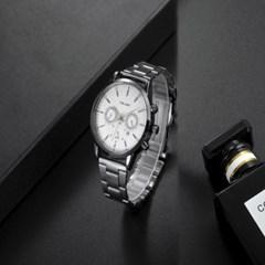 남성 아날로그 YOLAKO White Europe 손목시계 Y0407