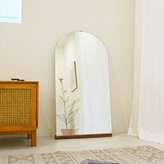 [모아이] 노프레임 심플 아치형 벽걸이거울 1200600(착불)